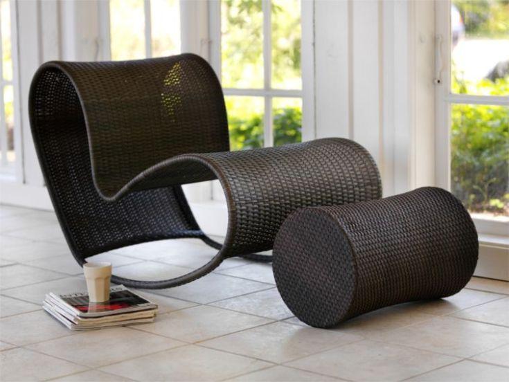 Fotel bujany EXPLORE (Cane-Line)