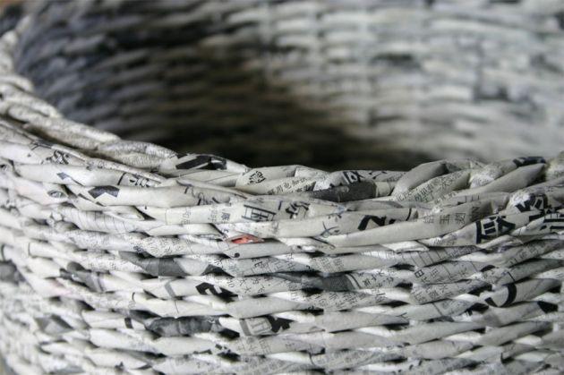 Shanghai News - papierowa wiklina