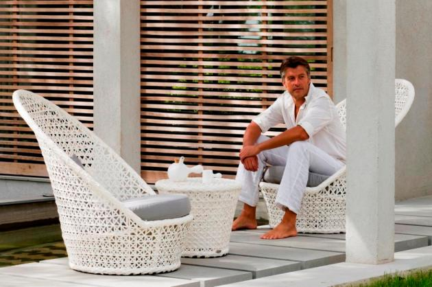 Nowoczesne fotele ogrodowe Kingston Sunchair