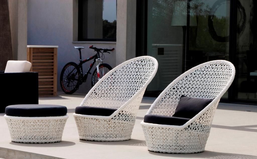 Ekskluzywne Meble Ogrodowe Technorattan : Nowoczesne fotele ogrodowe Kingston Sunchair