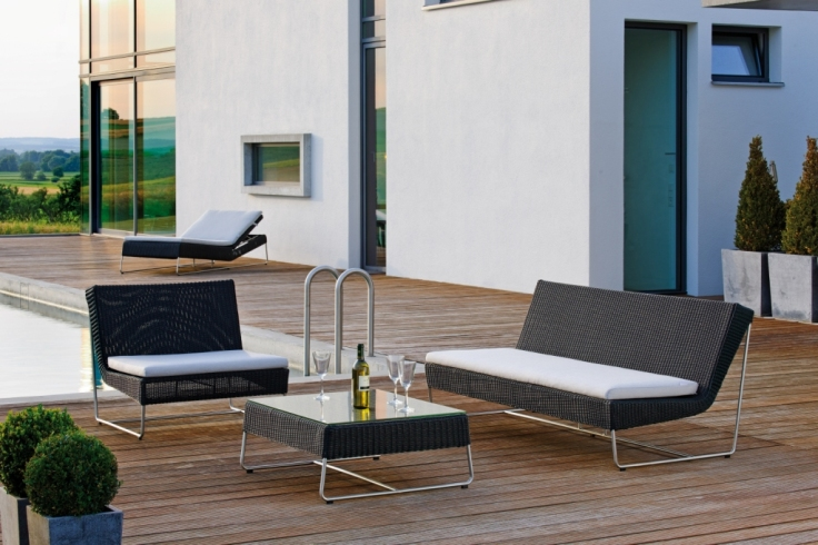 Nowoczesne meble ogrodowe Mia Lounge