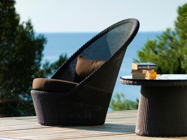 Ekskluzywne meble ogrodowe Kingston Sunchair. Designed by Foersom & Hiort-Lorenzen MDD