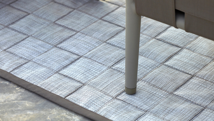 Outdoor carpet. Dywan na balkon. Cane-line/Willow House