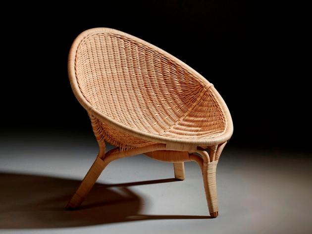 Fotel rattanowy RANA