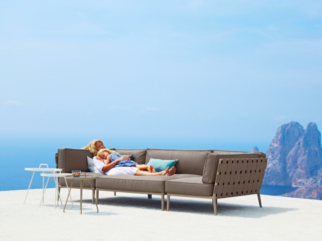 Meble ogrodowe Cane-line TEX. Sofa Conic.