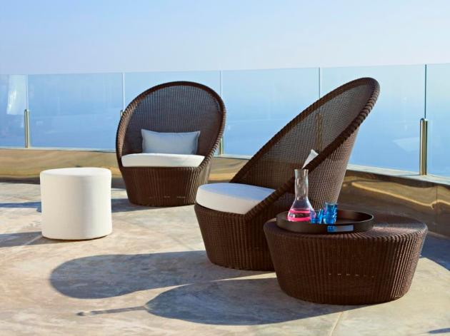 Kingston Sunchair ekskluzywne meble na taras