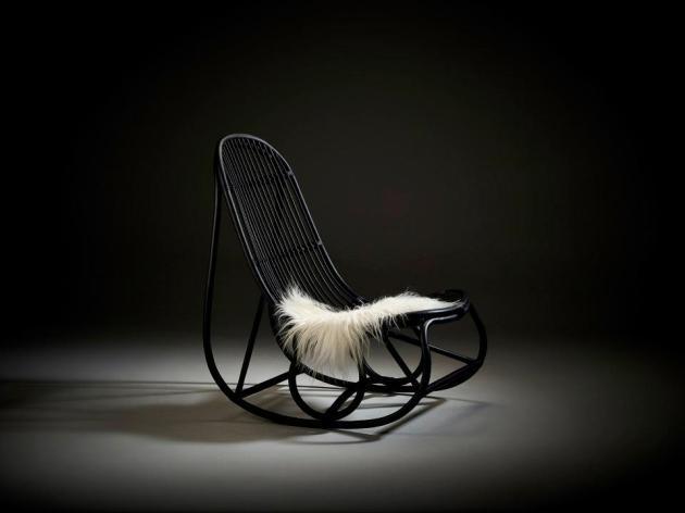 Fotel bujany NANNY designed by Nanna Ditzel