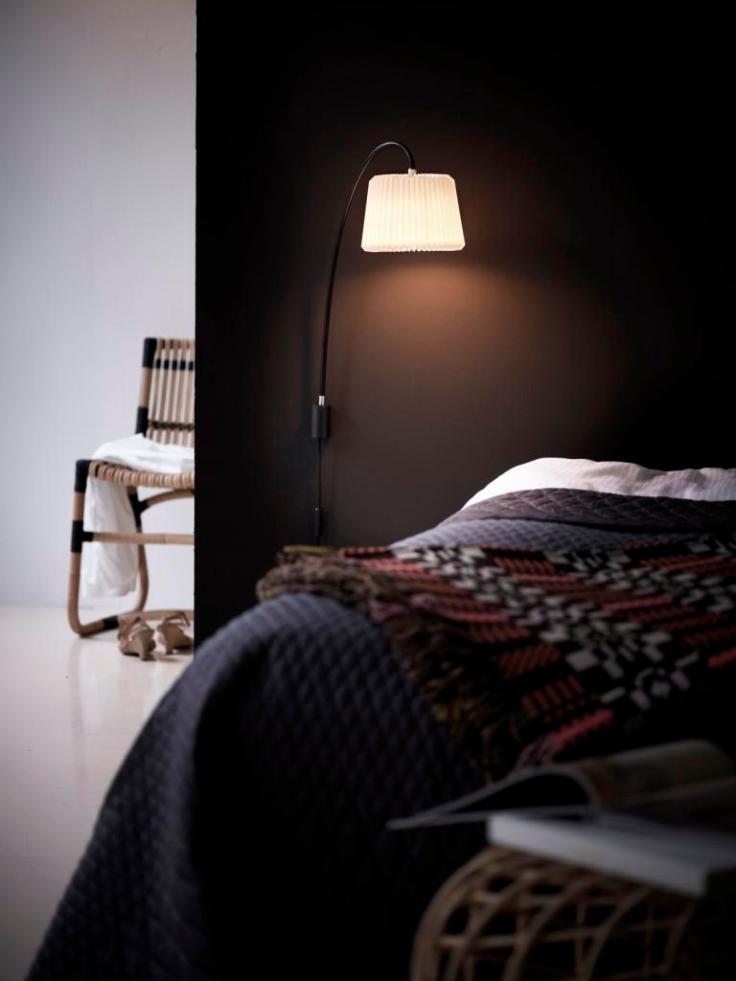 Duński design. Lampa Le Klint. Meble rattanowe Can-line