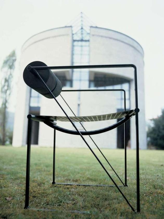 Krzesło SECONDA. Design Mario Botta. Alias Design