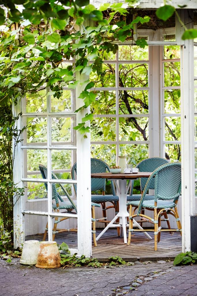 Salvie green Sofie chairs from Sika-Design