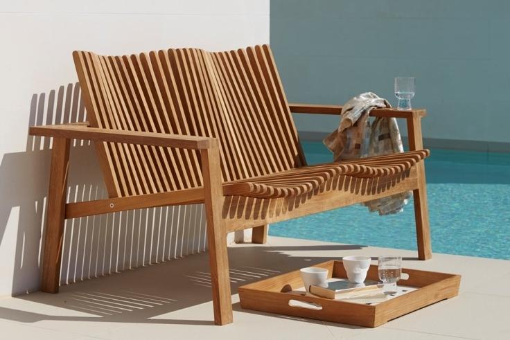 AMAZE teakowa sofa ogrodowa. Cane-line