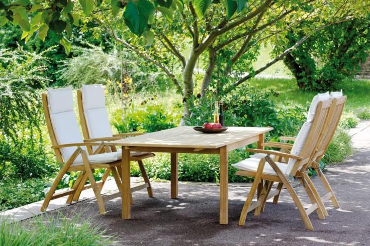 Drewniane meble ogrodowe MALAGA. STERN TEAK