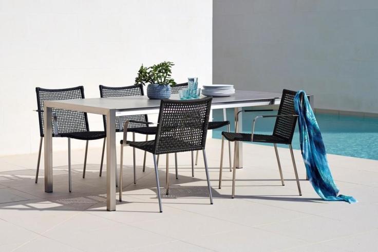 STRAW krzesła ze sznurka ROPE® Cane-line