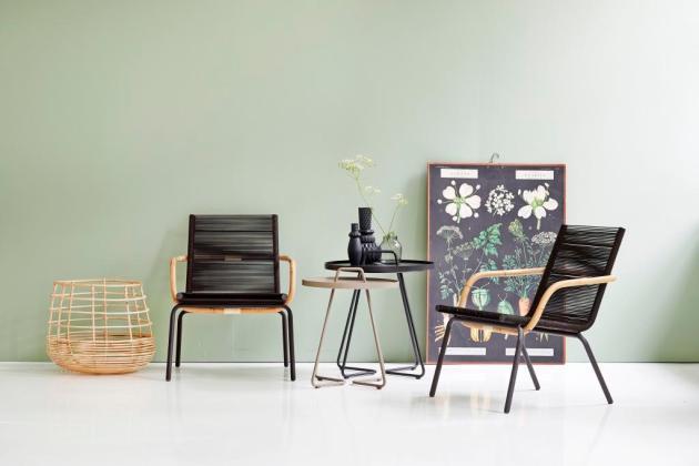SIDD CHAIR brown Cane-line nowoczesne krzesła