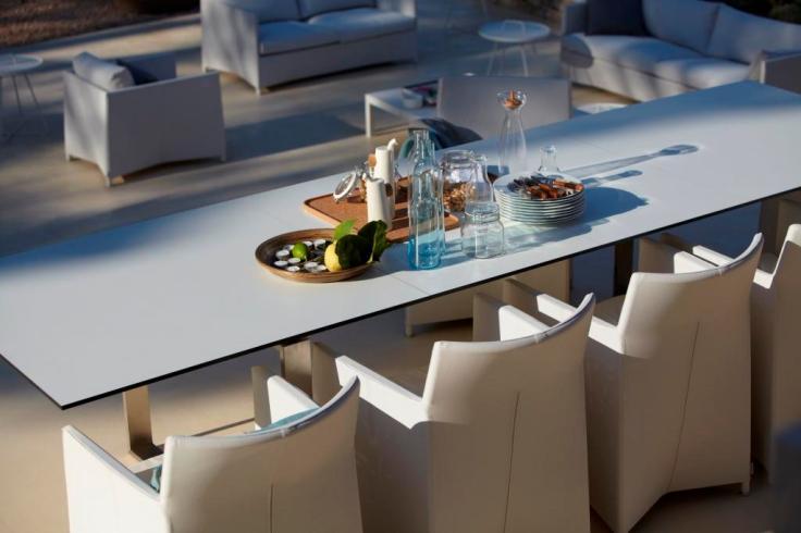 EDGE stół ogrodowy. Design by STRAND+HVASS