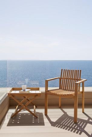 AMAZE krzesło teakowe Cane-line