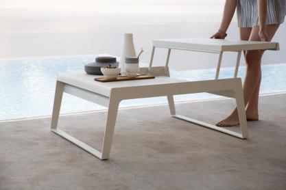 CHILL-OUT Cane-line rozkładany stolik kawowy
