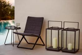 Traveller Lounge Cane-line SoftTouch. Meble na balkon