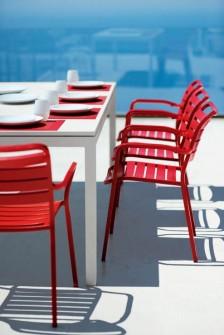 FLAT stół obiadowy i krzesła OCEAN ETHIMO