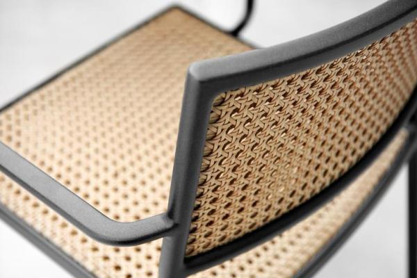LESS Cane-line krzesło z francuską plecionką