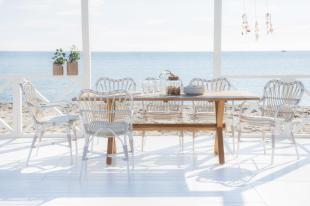 MARGRET krzesła ogrodowe ze stołem COLONIAL. Sika-Design