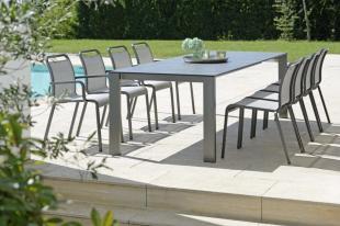 OSKAR krzesła ogrodowe antracytowe