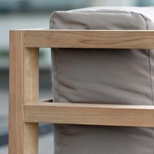 ASPEN elementy drewniane. Teak.