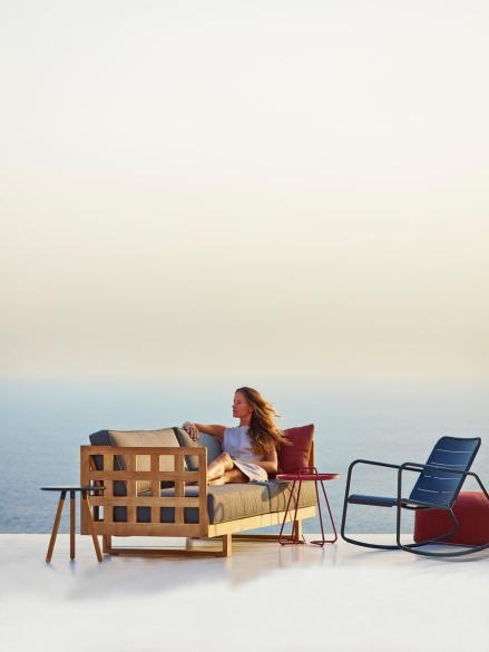 SQUARE teakowe meble wypoczynkowe. Design by Foersom & Hiort-lorenzen