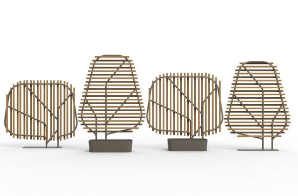 CLOSTRA Ethimo przesłony ogrodowe. Design Emmanuel Gallina