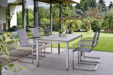 EVOEE krzesła swingujace do wnętrz i ogrodu STERN