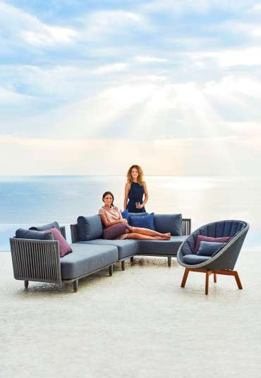 Moments lounge modul, Peacock lounge chair