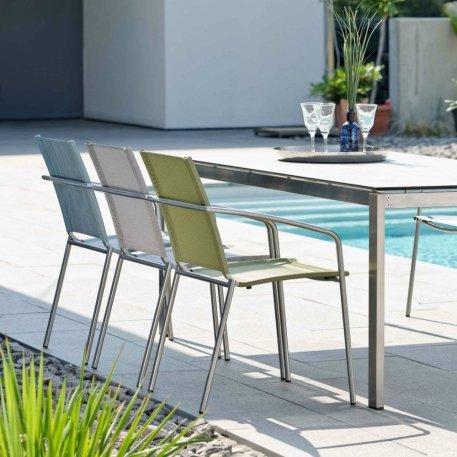 MARA krzesła ogrodowe STERN