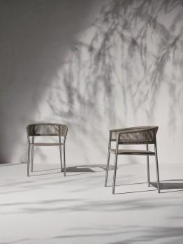 KILT krzesła ogrodowe ETHIMO
