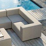 CARSON sofa trzyosobowa z zestawem mebli
