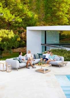 SPACE luksusowe sofy tarasowe Cane-line